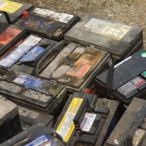 Blei-Batterien