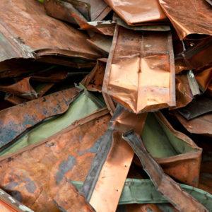 Kupfer, gemischt, alt